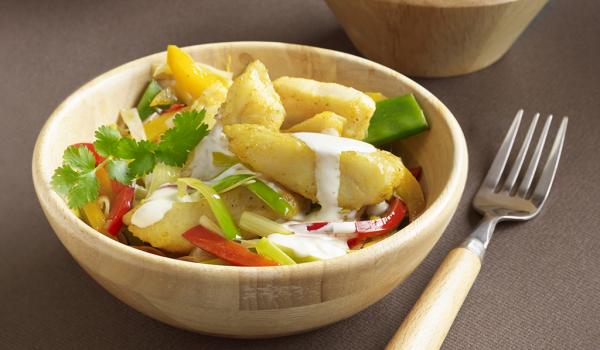 Pangasius wok recept