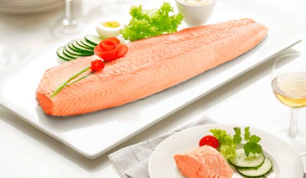 recette saumon belle vue marine harvest pieters. Black Bedroom Furniture Sets. Home Design Ideas